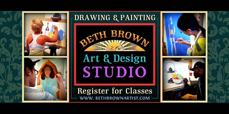 Online Drawing & Painting - Class Registration Info Session tickets
