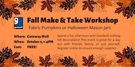 Halloween Make & Take Workshop tickets