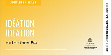 CEE : Idéation   EMC: Ideation tickets
