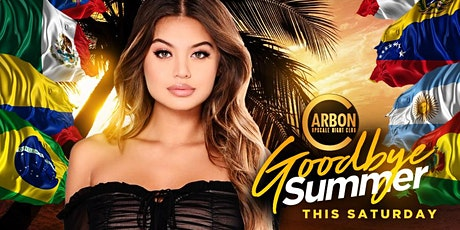 This Saturday • Good Bye Summer  @ Carbon Lounge • Free guest list tickets