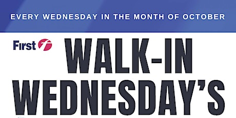 Walk-In Wednesday's! On-The-Spot Interviews in October! tickets