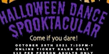 Halloween  Dance Spooktacular tickets