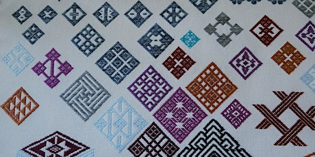 Kogin counted thread Sashiko embroidery (Online event) tickets