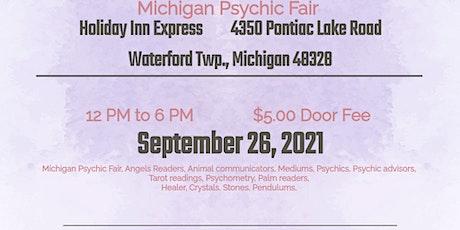 Michigan Psychic Fair - September 26, 2021, Holiday Inn Express, Waterford tickets
