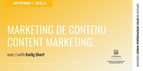 CEE : Marketing de contenu | EMC: Content Marketing billets