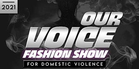 OurVoice Fashion Show tickets