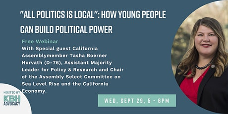 """""""All Politics is Local"""": how young people can build political power tickets"""