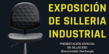 Exposición de sillería industrial tickets