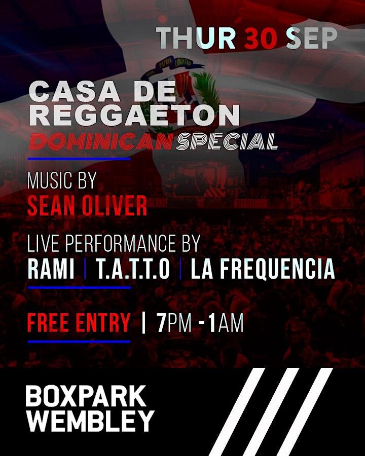 """Casa De Reggaeton Presents: """"UK Latinos Live Dominican Special image"""