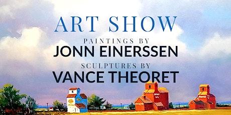 Art Show with Artists Jonn Einerssen & Vance Theoret tickets