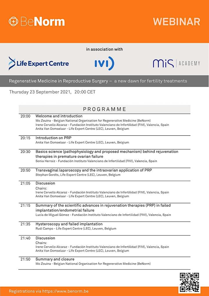 WEBINAR | Prospects for regenerative medicine in fertility treatments image
