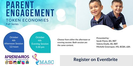 Parent Engagment - Token Economies - Afternoon Session tickets