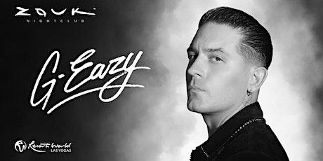 G-Eazy @ Zouk Nightclub tickets