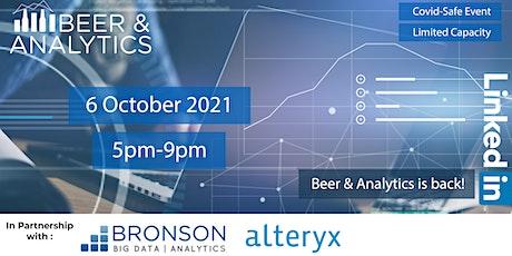 Beer and Analytics VI - Ottawa (5pm to 9pm) tickets