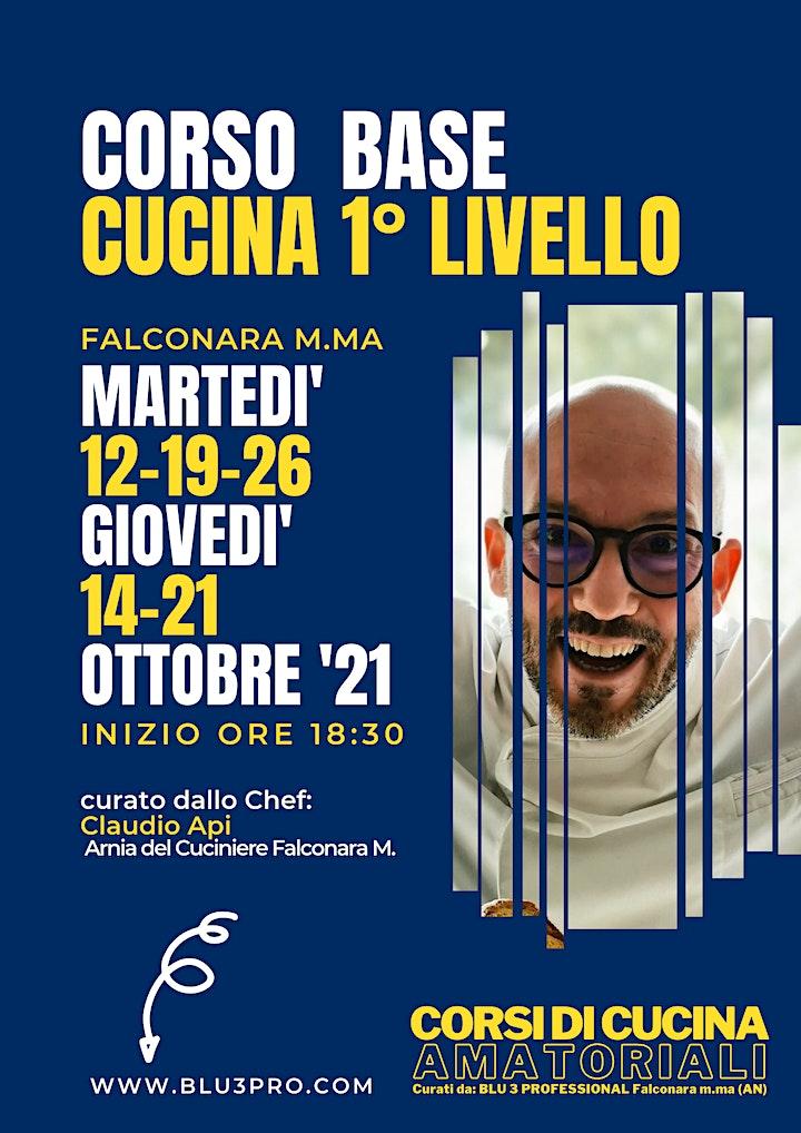 Immagine CORSO DI CUCINA BASE 1° LIVELLO con Chef Claudio Api