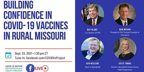 Building Confidence in COVID-19 Vaccines in Rural Missouri tickets