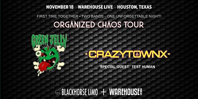 CRAZYTOWN & GREEN JELLY AT THE STUDIO AT WAREHOUSE LIVE