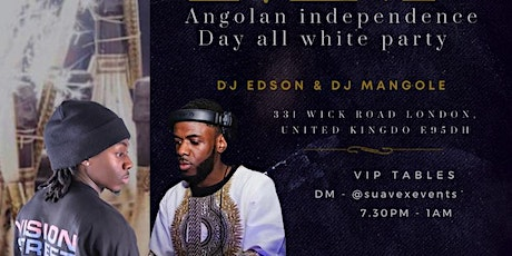 Angolan Independence  day all white party tickets