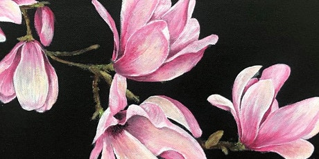 Acrylic Flower Painting Workshop tickets
