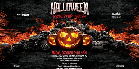 44th and Madison Presents The Halloween Monster Mash! tickets