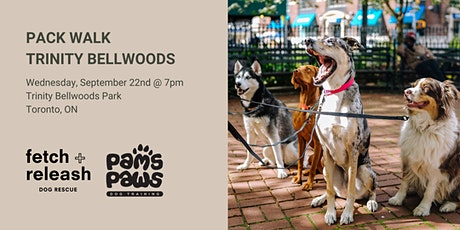 Pack Walk  Trinity Bellwoods! tickets