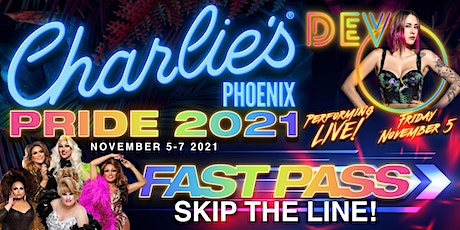 Charlie's PRIDE Fast Pass tickets