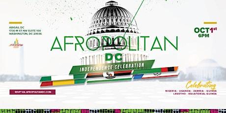 AfropolitanDC  - Largest Cultural Mixer For Diaspora Professionals tickets