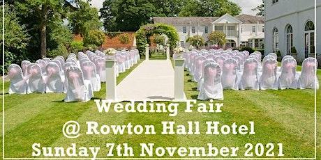 West Cheshire Wedding Fair tickets