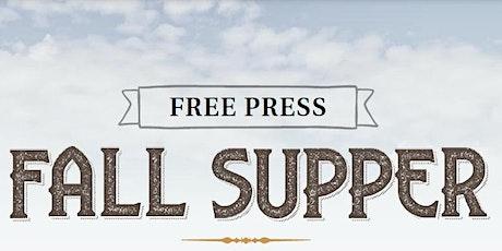 Free Press Fall Supper tickets