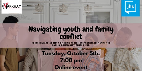 Navigating Youth and Family Conflict tickets