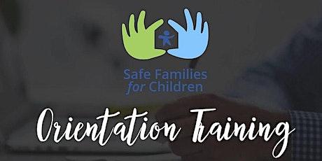 SF Training Session 1: New Volunteer Orientation tickets