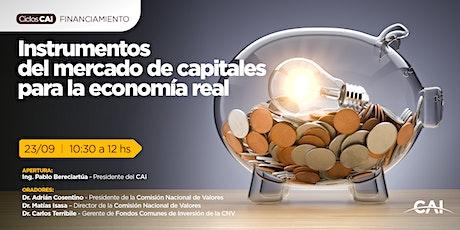 #CiclosCAI FINANCIAMIENTO - Instrumentos del mercado de capitales entradas