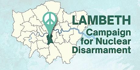 Lambeth CND Organiser meeting boletos