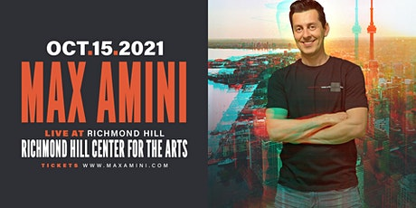Max Amini Live in Richmondhill - 2021 World-tour **10PM SHOWTIME** tickets
