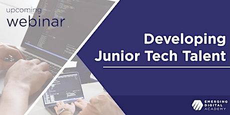 Developing Junior Tech Talent [Webinar] tickets