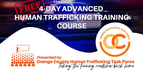 4-day Advanced Human Trafficking Training tickets