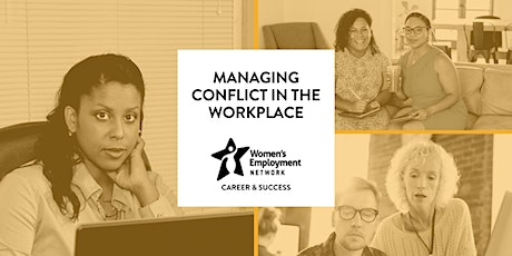 Managing Conflict in the Workplace tickets