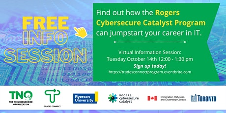 Rogers Cybersecure Catalyst Information Session tickets