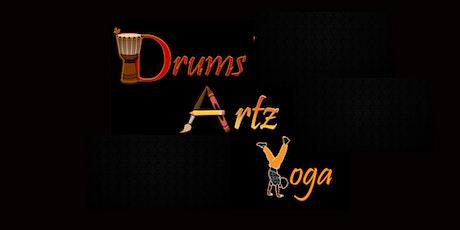 Yoga & Drum tickets