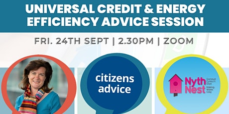 Universal Credit & Energy Efficiency Advice Session tickets