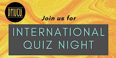 International Freshers Quiz Night tickets