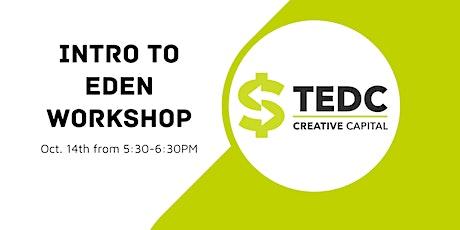 Intro to EDEN Workshop tickets