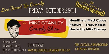 The Mike Stanley Comedy Show tickets