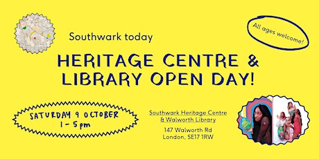 Southwark today | Library & Heritage Centre Open Day tickets