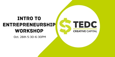 Intro to Entrepreneurship Workshop tickets