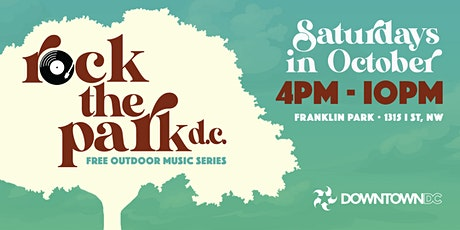Rock the Park DC: Free Outdoor Music Series tickets