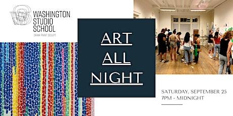 Art All Night @ Washington Studio School tickets