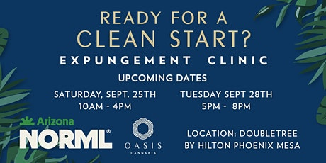 Free Expungement Clinic 9/25 tickets