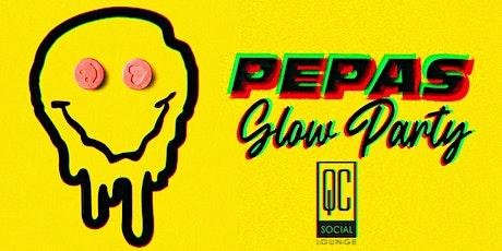 Pepas Glow Party - Latin Euforia Fridays at QC Social Lounge tickets