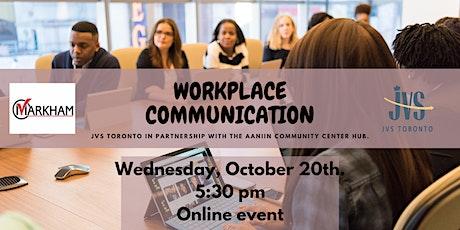 Workplace Communication tickets